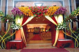 flower for opening ceremony